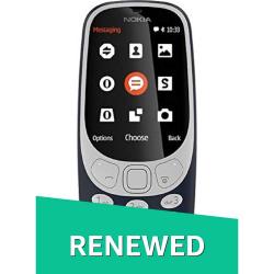 (Renewed) Nokia 3310 (Dark Blue)
