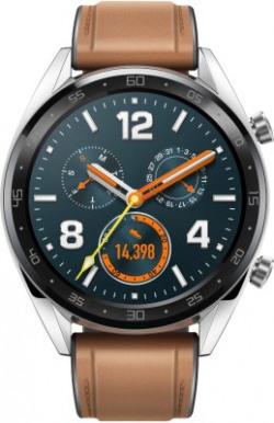 Huawei Watch GT Classic Smartwatch(Brown Strap, Regular)