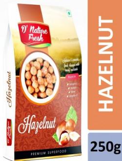 D NATURE FRESH Hazelnut 250g Hazelnuts(250 g)