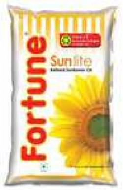 Fortune Sunflower Refined Oil - Sun Lite 1 L