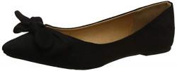 Qupid Women's Nude Stretch Suede P Fashion Sandals-7 UK/India (40 EU) (PIKA-175)