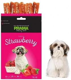 Nootie Prama Strawberry Dog Treats (Pack of 3)