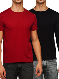 GRITSTONES Round Neck T-Shirt Combo upto 84% off starting Rs.229