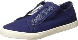United Colors of Benetton Girl's Navy Blue Sneakers-3 UK(36 EU) (19P8H8CB233JG_902) Rs. 581 - Amazon