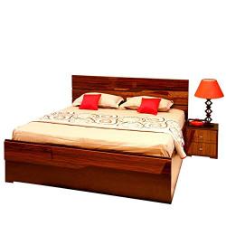 82% off: Evok Cosmo Engineerwood Queen Bed with Storage