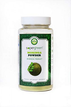 SuperGreen Moringa Powder, 100 g