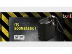 [App only] boAt Stone Grenade T 5W Portable Wireless Speaker with Rugged IPX6 Design & Up to 7H Playback Rs. 1034 - Tatacliq