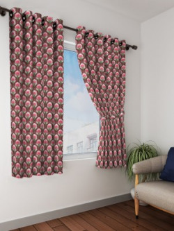 Bombay Dyeing Curtains (Pack of 2)