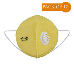 Birde High Filtration Capacity 5 Layer Mask With Respirator BRD-RESP-MASK-YLW (12)