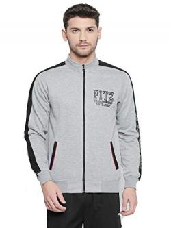 Fitz Poly Cotton Sweatshirt for Mens (SW9010GM) Grey