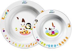 Philips Avent Toddler Mealtime Toddler 2 Bowl Set