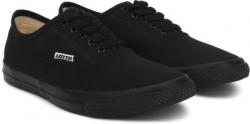Lotto Flayer Canvas Shoes For Men(Black)