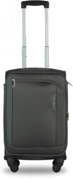 Nasher Miles Dallas Expander soft-sided Polyester Cabin Luggage 70% off from Rs. 2559 - Flipkart