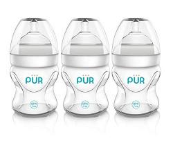 Pur 3pk Advanced Plus Wide Neck Bottle 5 oz./150 ml.