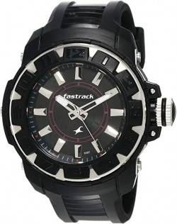 Fastrack Analog Black Dial Men's Watch -NK9334PP02