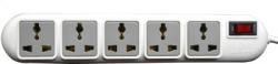 Ideakard Ideakard Smart Strip 5  Socket Extension Boards(White)