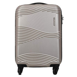 Kamiliant Kam Teku ABS 68 cms Light Gold Hardsided Check-in Luggage (KAM TEKU SP 68cm TSA - LGT GLD)