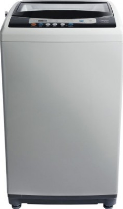 Midea 7.5 kg One Touch AI Wash Fully Automatic Top Load Grey(MWMTL075S09)