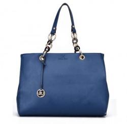 Diana Korr Women Blue Shoulder Bag