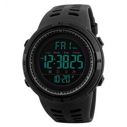 Addic Sports Digital Black Dial Men's Watch - SkmeiMW55