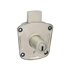 Harrison H-021B Iron Eleven Pin All Safe Lock Set (Silver)
