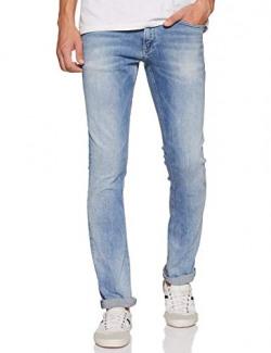 Tommy Hilfiger Men's Slim Fit Jeans (A8ATD10238_Dynmc Jacob Light_38)