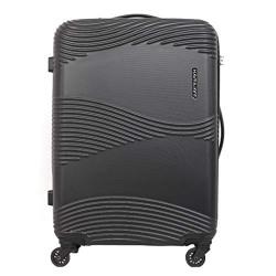 Kamiliant Kam Teku ABS 78 cms Black Hardsided Check-in Luggage (KAM TEKU SP 78cm TSA - Black)