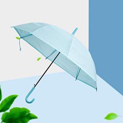 XIMI VOGUE™ Solid Color Umbrella With Long Handle-Blue