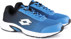 Lotto JAZZ Snorkle Blue/Blk Running Shoes For Men 9 Running Shoes For Men(Blue, Black)