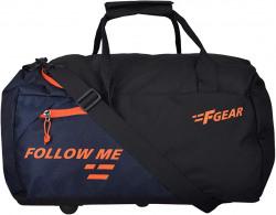 F Gear Apex Polyester 47 cms Orange Gym Bag (2973) 69% off