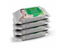 Senseller Refreshing Facial Wet Wipes, Enriched with Mint Extract- 30 Wipes (Pack of 4) Rs.239 @ Amazon