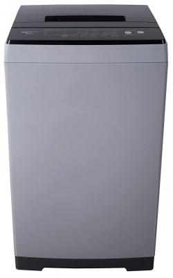 AmazonBasics 6.5 kg Fully-Automatic Top Load Washing Machine (Grey/Black, Full Metal body, LED Display)