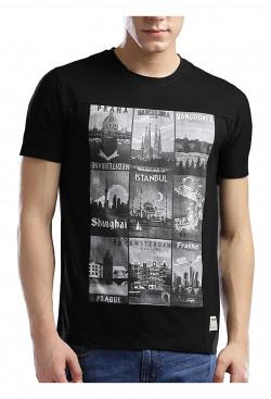 Hubberholme Men's Slim Fit T-Shirt (1366--s_Black_Small)