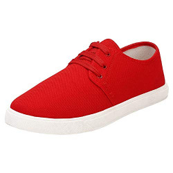 Chevit Men's 157 Red Casual Shoes (Sneakers Shoes) 157-8