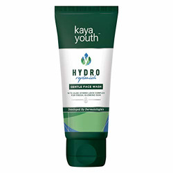 Kaya Youth Hydro Replenish Gentle Face Wash, With Aloe Vera and Energizing Beads, Dirt Removal, Suitable for Oily Skin, Fresh Glowing Skin,Developed by Dermatologists, 50 gm
