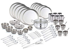 Pigeon Stainless Steel Dinner Set - 81 Pieces