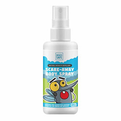 Moskito Safe Alcohol and Deet Free Natural Mosquito Repellent Spray - 100ml