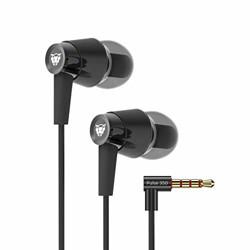 Ant Audio Pulse 350 Heavy Deep Bass Headset with Mic  Gun Black