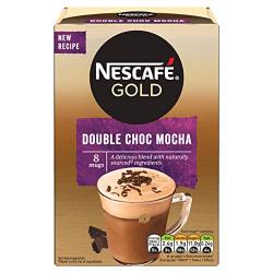 Nescafe Gold Double Choc Mocha Pouch, 184 g