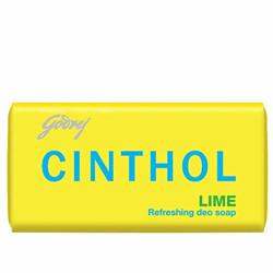 Cinthol Lime Soap, 100g (Pack of 9)