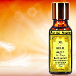 Ancient Flower- Oil is Gold - Argan all Day Face Serum (5 ml)