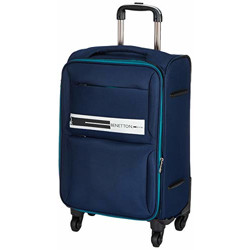 United Colors of Benetton Polyester 50 cms Navy Softsided Cabin Luggage (0IP6EAS20F02I)