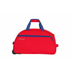 Kamiliant by American Tourister KAM Brio Polyester 62 cms Red Travel Duffle (KAM BRIO WHD 62cm - RED)
