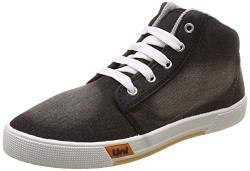 Unistar Men's Black Sneakers-7 UK/India (41 EU) (5015)