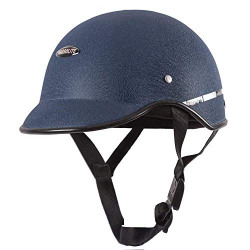 Habsolite HB-MWB2 Mini Wrinkle All Purpose Safety Helmet with Quick Release Strap for Men & Women (Blue, one size)