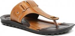 Paragon Men Beige, Black Sandals