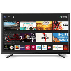 [ Live at 6PM ] Shinco 80 cm (32 Inches) HD Ready Smart LED TV with Uniwall  @3232.