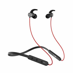 boAt Rockerz 255 Pro in-Ear Earphones with 10 Hours Battery, ASAP Charge, IPX5, Bluetooth V5.0 and Voice Assistant(Raging Red)