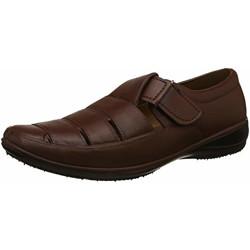 Sandak Men's New Andy Dark Brown Loafers-10 (8624052)