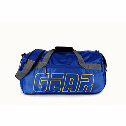 Gear Boxy 27 Ltrs Blue-Yellow Travel Duffle for gym, sports, training (DUFBXYCLS0512)